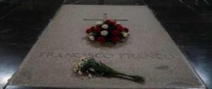 Il corpo di Franco via dalla Valle dei Caduti. E le visite al mausoleo raddoppiano