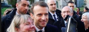 Bagno di folla e di selfie ad Ajaccio per Macron, in una giornata di lutto