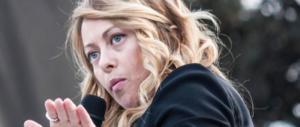 Giorgia Meloni: «L'ultimo delirio del Pd in Abruzzo, vogliono denunciarmi»