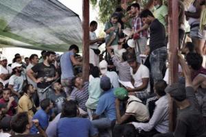 migranti-atene-la-protesta