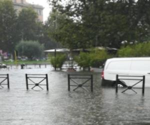 """Nubifragio a Roma FdI: """"La Raggi è in vacanza e la città è in ginocchio"""" (video)"""