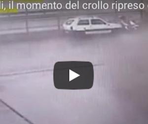 Ponte Morandi, ecco le terribili immagini del crollo in un nuovo video