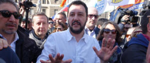 """Salvini: «Cambieremo questo Paese alla faccia dei """"nazisti rossi""""…»"""