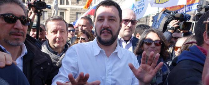 Salvini: «I francesi? Non dimenticate Gheddafi…». E sul selfie: «Cavolate»