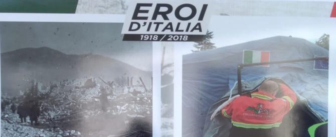 """""""Eroi d'Italia"""" in mostra ad Atreju: dalla Grande Guerra alle trincee di oggi"""