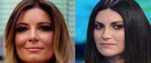 """La Lucarelli """"stritola"""" la Pausini per l'insulto sessista all'ex amica: «Fai pietà»"""