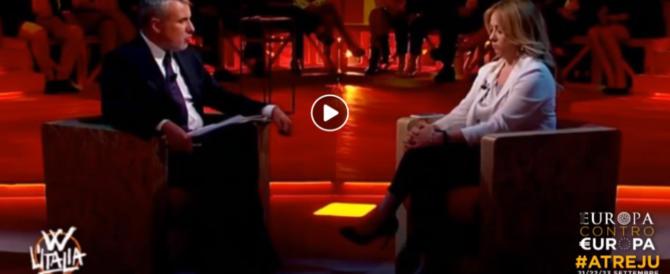 Giorgia Meloni: «Abbiamo dimostrato coerenza. E la coerenza paga» (video)
