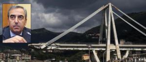 Ponte Morandi, Gasparri: «Toninelli indegno, dal governo solo caos e bugie»