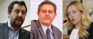 Da Meloni e Toti solidarietà a Salvini: ingiusto sequestrare soldi versati dai militanti