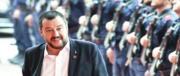 Salvini all'attacco: contro il dl sicurezza solo sinistra militante e partigiani