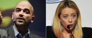 Meloni: «Ad Atreju premieremo i giornalisti da cui Saviano ha copiato»