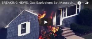 Apocalisse a nord di Boston, esplosioni di gas e incendi: 1 morto, 16 feriti (VIDEO)