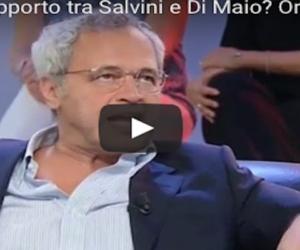 Mentana caustico su La7: i rapporti tra Salvini e Di Maio? Ormai siamo al test di gravidanza