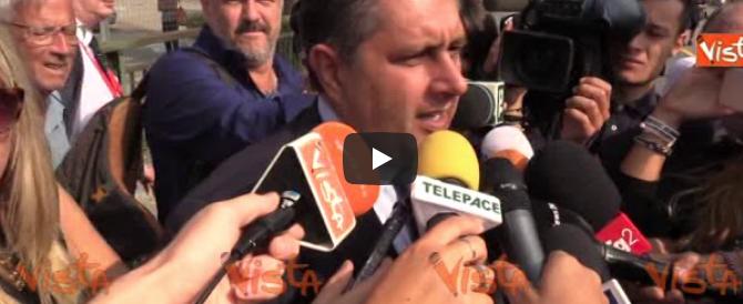 Genova un mese dopo, Toti: «Non sarà la caduta di un ponte a piegarci» (video)