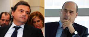 Il Pd non trova pace neanche a tavola: è guerra delle cene tra  Calenda e Zingaretti