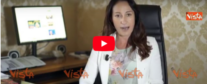 Paola Taverna ci ripensa: da megafono No Vax all'outing pro vaccini (video)