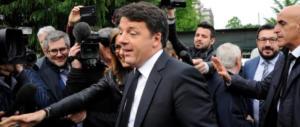 Renzi ulula: «Chi tace è complice del governo, raddoppio il mio impegno»