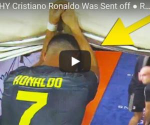 Ronaldo espulso (video): cosa rischia e cosa farà la Juventus