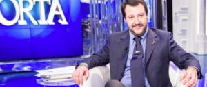 """Salvini """"chiama"""" Berlusconi e rilancia """"quota 100″ (a 62 anni) per le pensioni"""