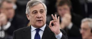 Tajani: «Berlusconi è l'unico che può guidare le liste di FI alle europee»