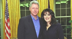 Bill Clinton con Monica Lewinski