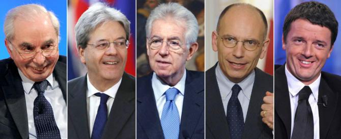 Ecco le facce del debito pubblico italiano. Meditate gente, meditate