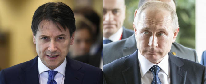 Conte vola da Putin: sul tavolo 15 accordi economici (alla faccia delle sanzioni)