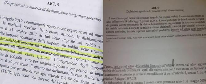 """Balla o gaffe di Di Maio. Il condono era """"nero su bianco"""" già il 13 ottobre. Non sa leggere?"""