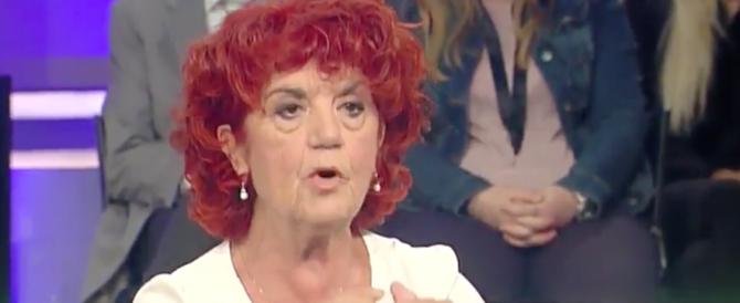 La Fedeli sproloquia sul fascismo: la Rauti la zittisce in diretta tv (video)