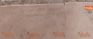 Pompei, un'iscrizione cambia la storia: la data dell'eruzione è un'altra (video)