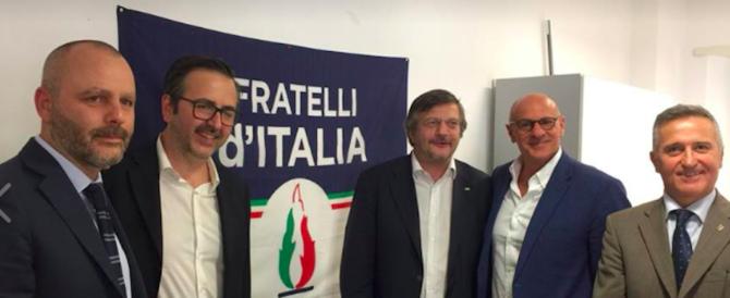"""Sabbatani Schiuma formalizza l'adesione a FdI: """"Torno a casa"""""""