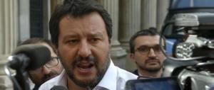 Salvini a Conte: «Vengo a Roma, chi si arrende hai già perso. Mai mollare»