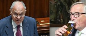 """Savona in aula punzecchia Juncker: """"Io vado ad acqua"""". L'intervento integrale (video)"""