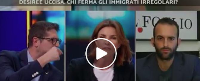La faccia tosta di Moretti (Pd): come mai gli stupratori non erano stati espulsi? (video)