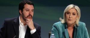 Europee, Salvini: «Fronte della libertà con Marine Le Pen e candidati comuni»