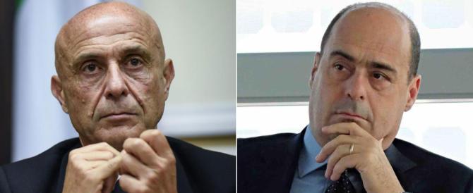 Pd, la disfida di burletta: il prode Minniti, campione di Renzi, contro Zingaretti