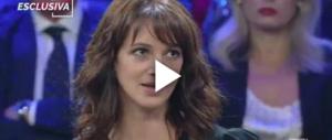 L'ira di Asia Argento contro Salvo Sottile: «Stai muto, co….e» (video)