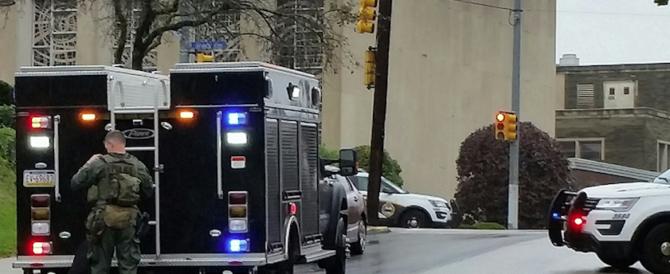 Uomo armato irrompe nella sinagoga di Pittsburgh: almeno 8 morti
