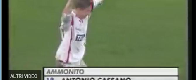 Cassano dà per l'ennesima volta l'addio al calcio. Il suo gol più bello (video)