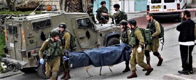Hebron, carabiniere ferito con un coltello da un terrorista palestinese