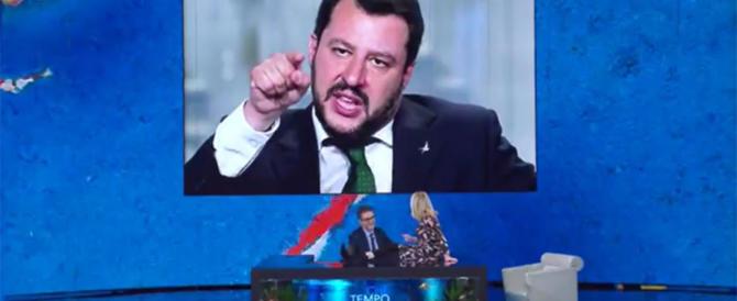"""L'ossessione di Fazio e Littizzetto per Salvini: """"Ce l'ha con i neri…"""" (video)"""