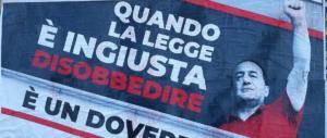 Tweet provocatorio di Meloni: Raggi, lo rimuovi o no questo manifesto?