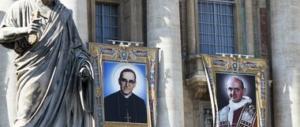 Giornata solenne oggi a San Pietro: Paolo VI, Romero e altri 5 proclamati santi