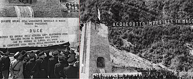 L'acquedotto del Peschiera, grande opera del fascismo, in mostra a Roma