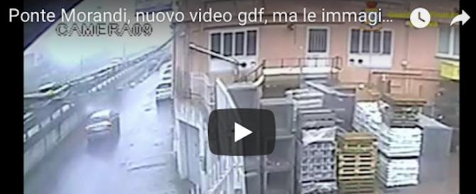 Ponte Morandi: nell'ultimo video del crollo strane anomalie e nuovi dubbi