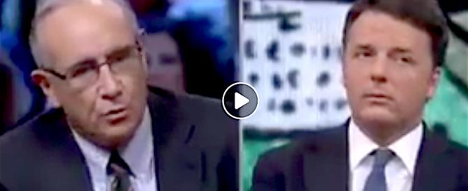 La figuraccia di Renzi in tv: «Fake news su di me». Ma spunta un video che lo inchioda