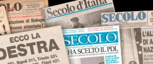 """Comunicato del Comitato di redazione del """"Secolo d'Italia"""""""