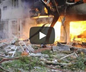 Bomba nella mensa scolastica in Crimea: decine di ragazzi morti (video)
