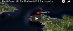 Forte terremoto ad Haiti: morti e feriti. Crollata una chiesa cattolica (video)