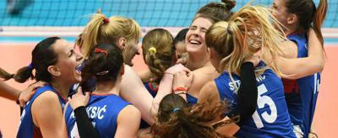 Volley, azzurre in finale contro la Serbia: sconfitta la Cina, il sogno continua